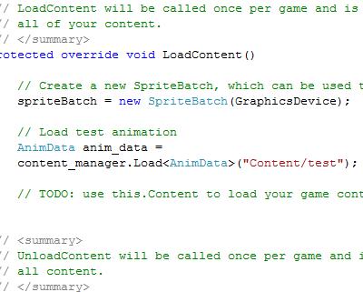 anim load code